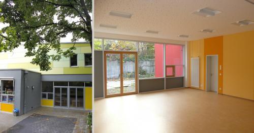 evangelische Kindertagesstätte Boxberg und Johannes-Falk-Haus VI