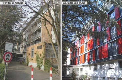 Studentenwohnen Comeniushaus Heidelberg IX